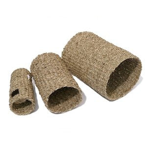 Rosewood Boredom Breaker Sea Grass Tunnel,Small Animal Toys,Rosewood,Animal World UK - Animal World UK