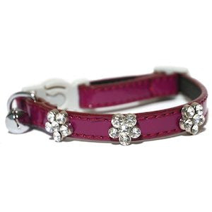 Rosewood Damson Cat Collar