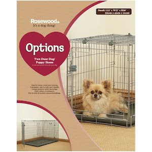 Rosewood Options Two Door Dog Home Dog Crate,Dog Crates,Rosewood,Animal World UK - Animal World UK