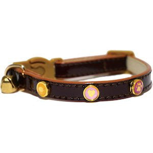 Rosewood Oxblood Cat collar