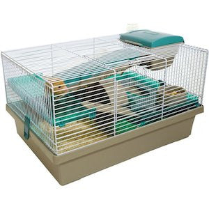 Rosewood Pico- Translucent Teal Hamster Cage,Small Animal Cages,Rosewood,Animal World UK - Animal World UK