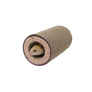 Rosewood Shred-A-Log Corrugated Tunnel,Small Animal Toys,Rosewood,Animal World UK - Animal World UK