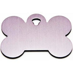 Silver Bone Dog Tag,Dog Tags,VIP Engravers,Animal World UK - Animal World UK
