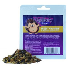 Spikes Insect Crumble Hedgehog Food