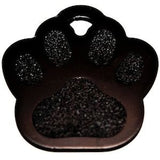 Superior Black Paw Dog Tag,Dog Tags,VIP Engravers,Animal World UK - Animal World UK