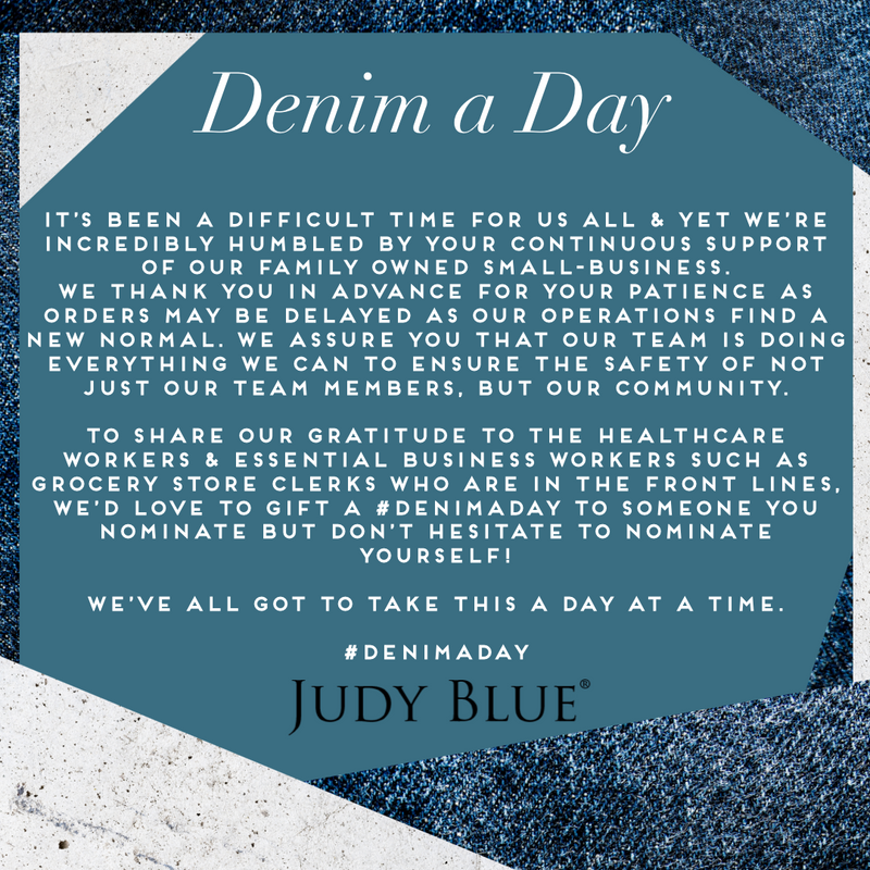 Denim a Day giveaway during COVID-19