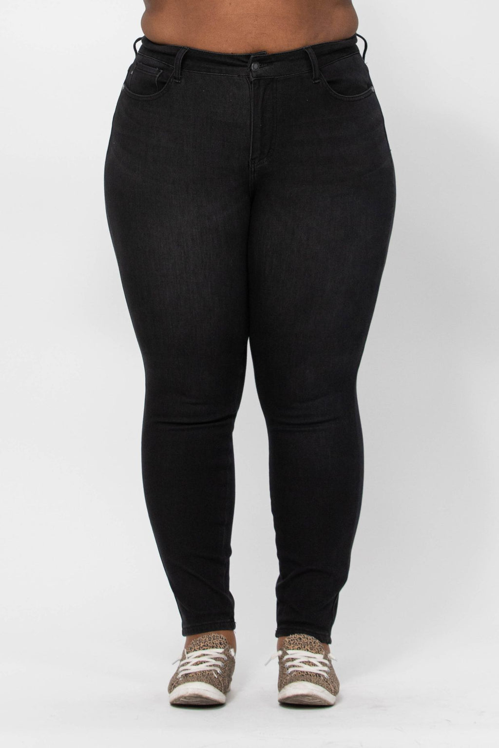 Dianna Black Thermal Skinny - PLUS