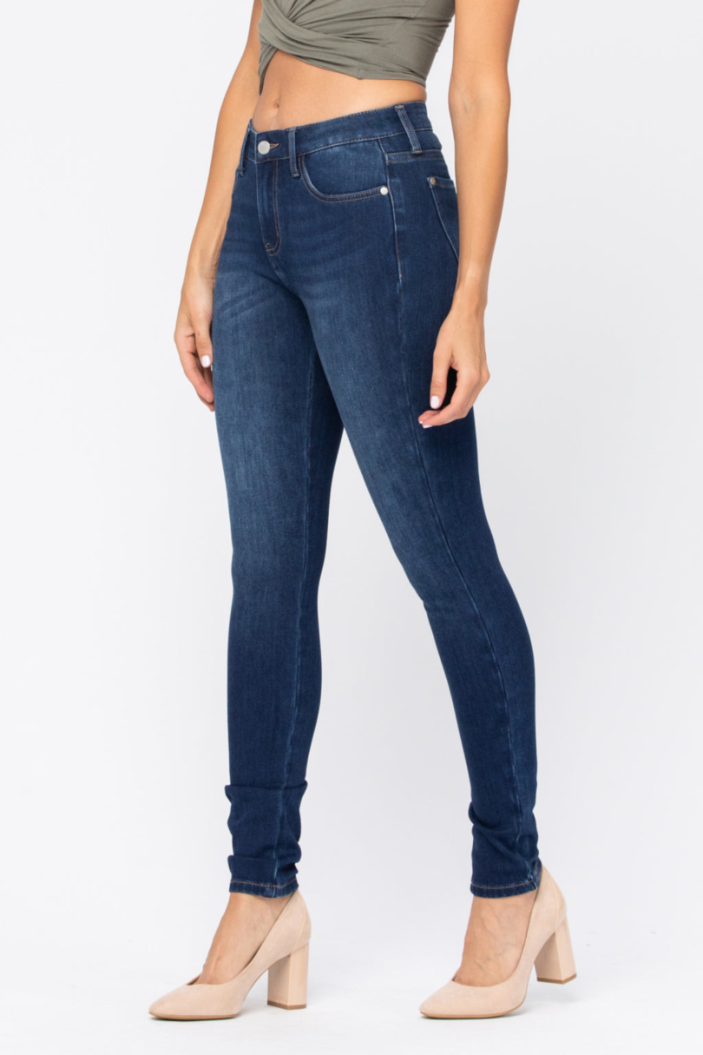 ThermaDenim Dark Thermal Skinny - PLUS