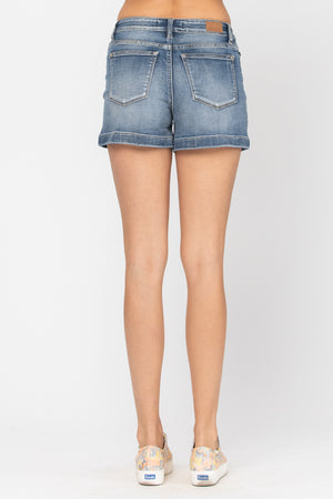 Jazzy High Waisted Shorts