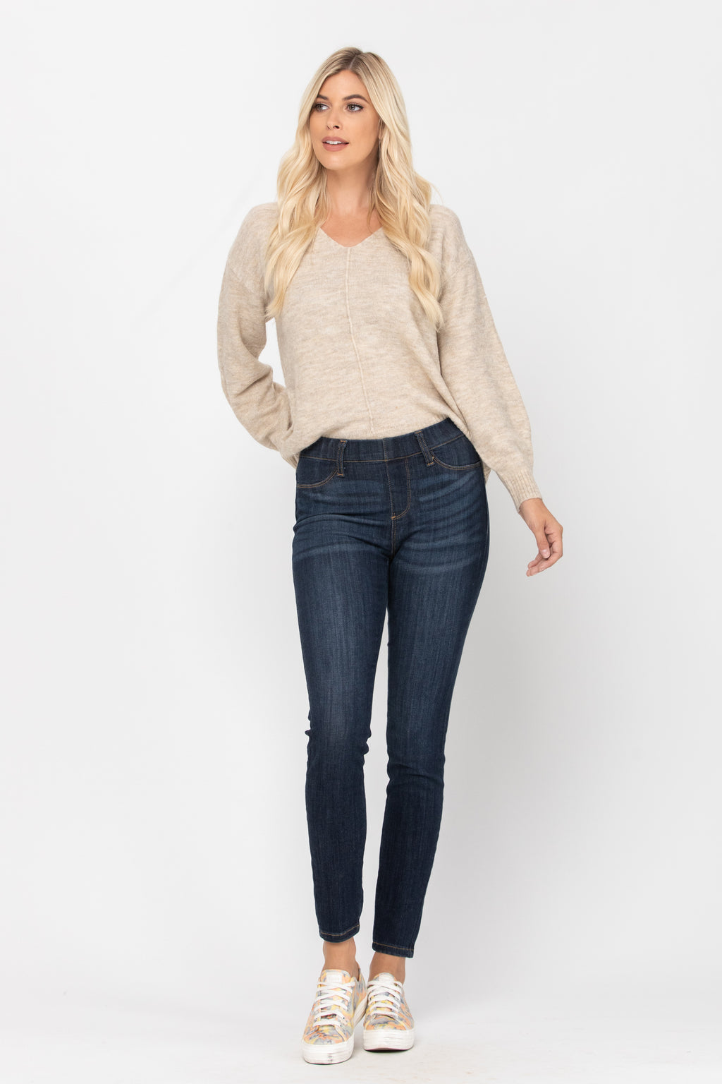 Alice Pull-On Skinny Jeggings