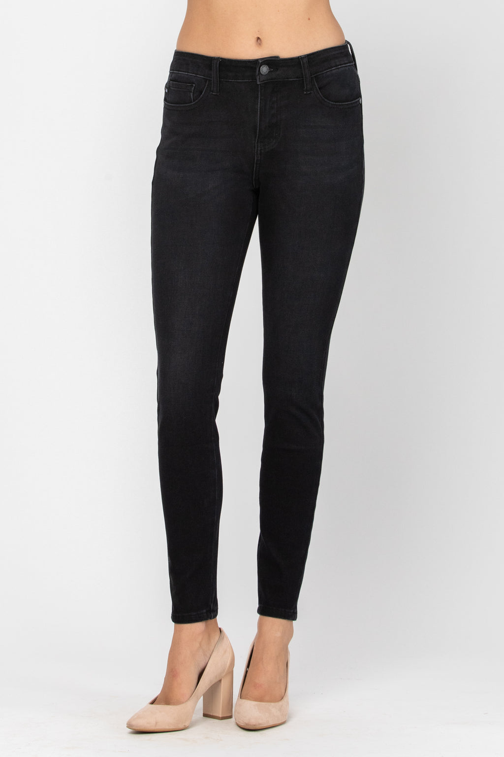 Dianna Black Thermal Skinny