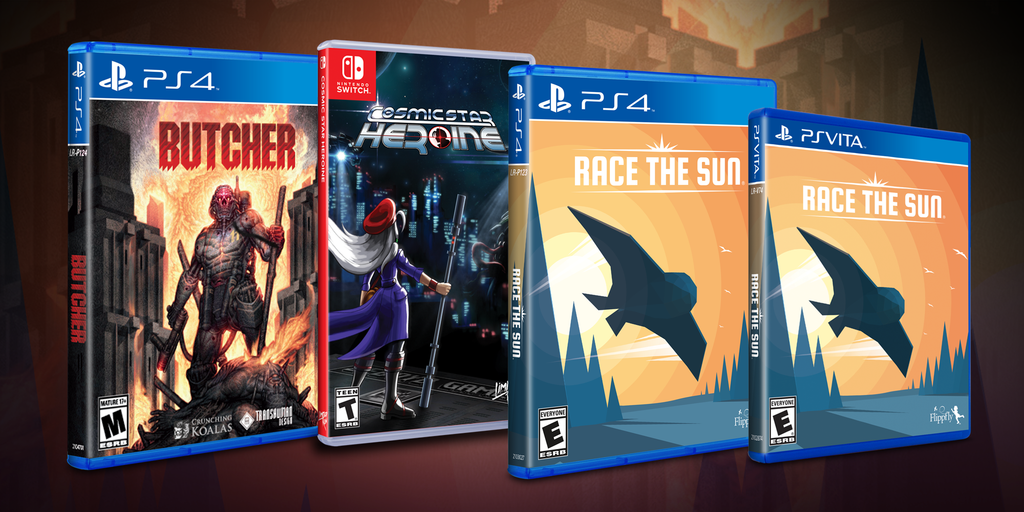 Cosmic Star Heroine, Butcher, and Race the Sun get physical!