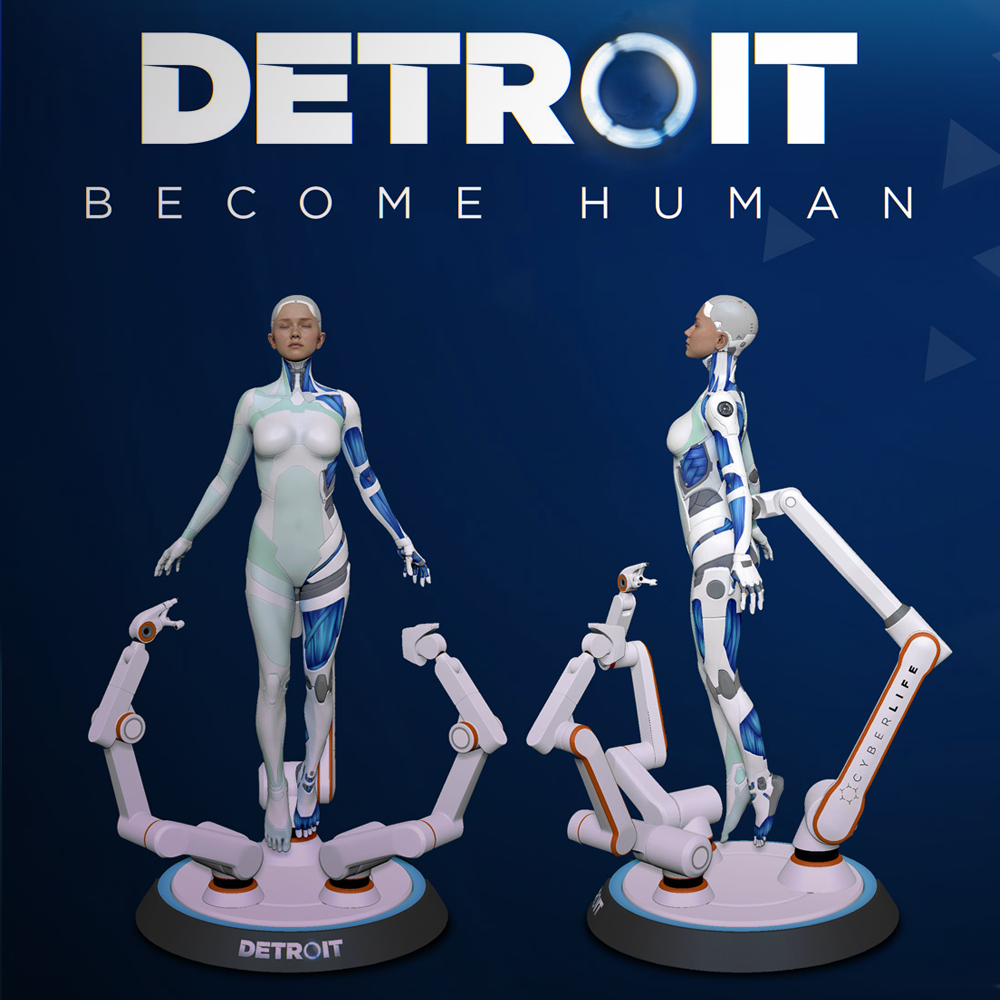 Surprise! Detroit: Become Human on PC is now available!
