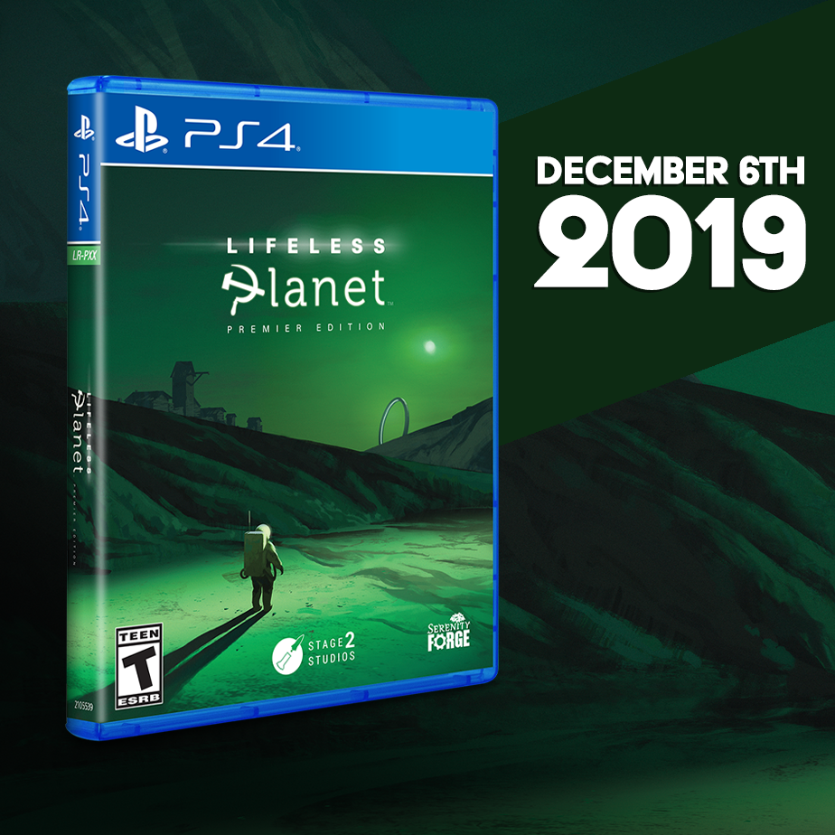Lifeless Planet gets a PS4 Limited Run next Friday!