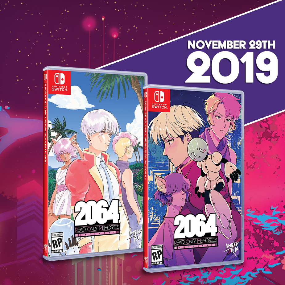 2064: Read Only Memories gets a Limited Run for the Switch!