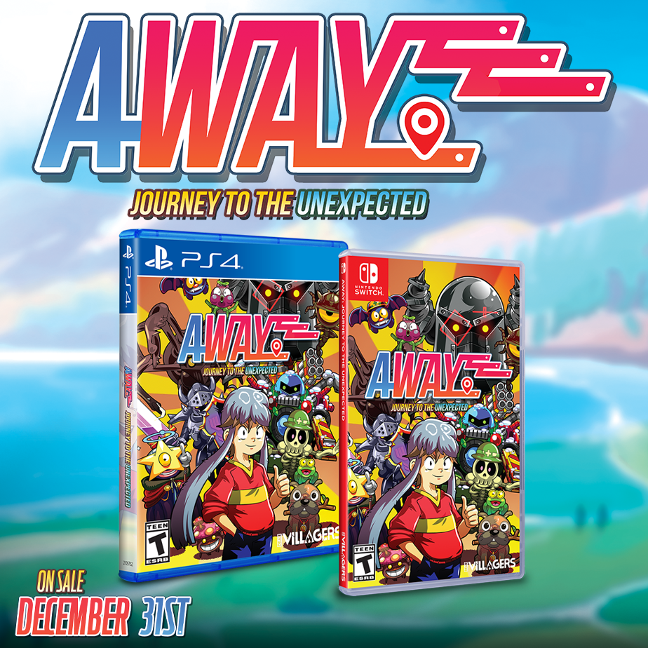 AWAY: Journey to the Unexpected will be available through our distribution line!