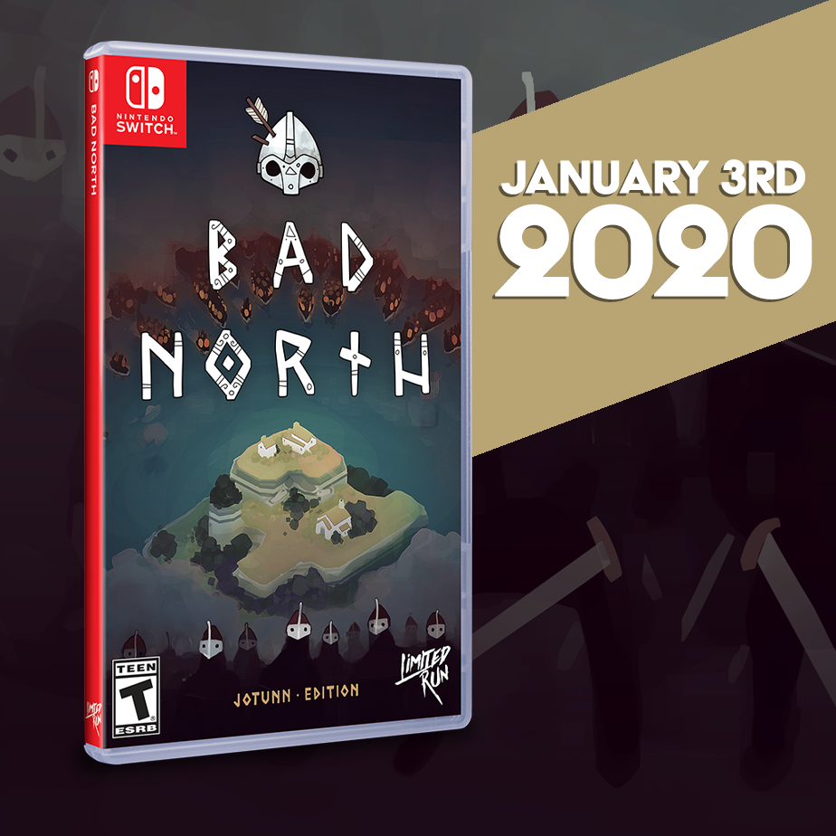 Bad North gets a Limited Run on Switch in the new year!