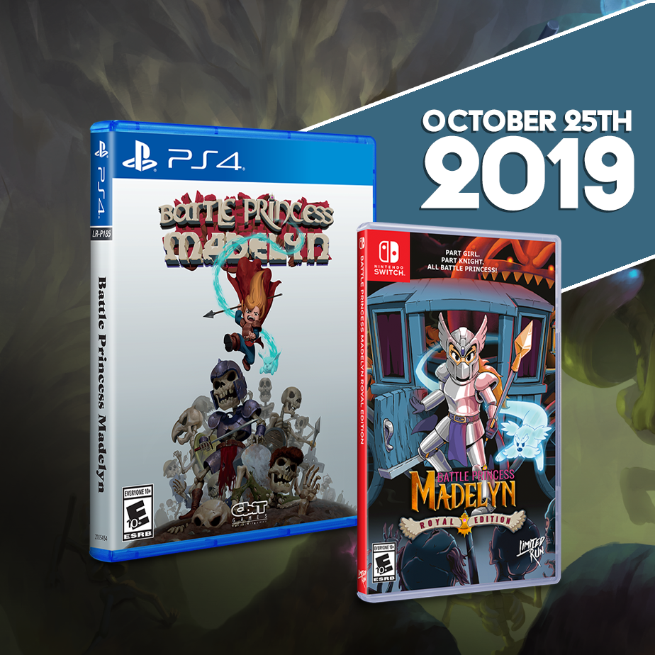 Battle Princess Madelyn gets a Limited Run for the PS4 & Switch!