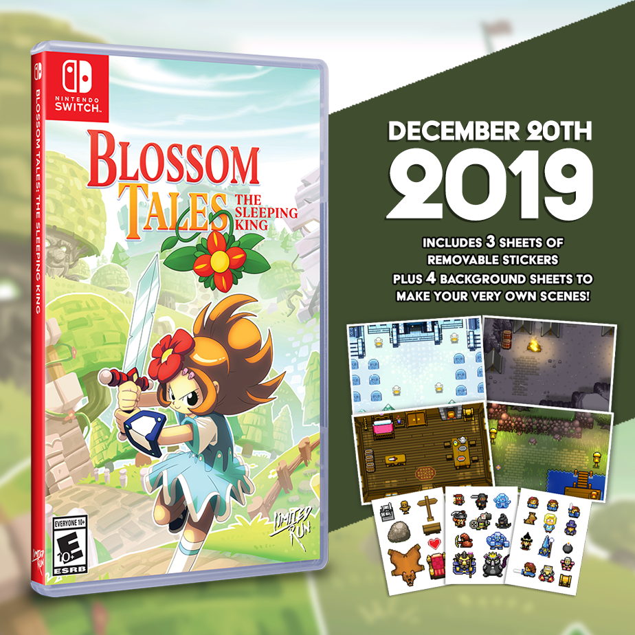 Blossom Tales: The Sleeping King gets a two-week Limited Run!