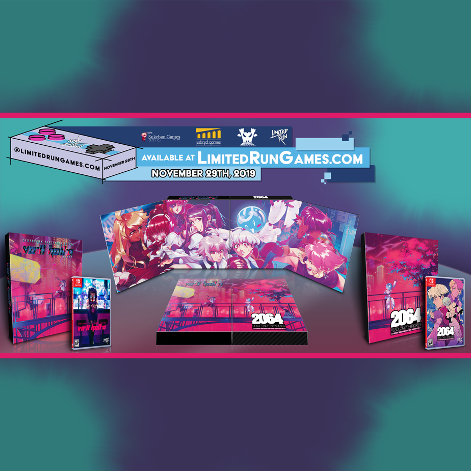 VA-11 HALL-A and 2064: Read Only Memories CE's link up to form panoramic art!