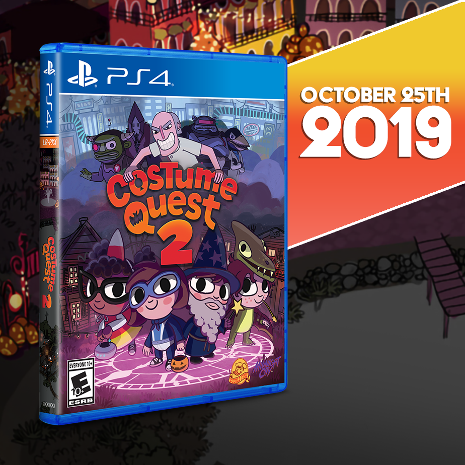 Costume Quest 2 gets a Limited Run for the PS4 this Friday!