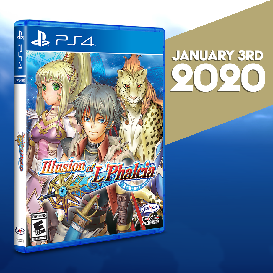 Illusion of L'Phalcia gets a Limited Run for the PS4!