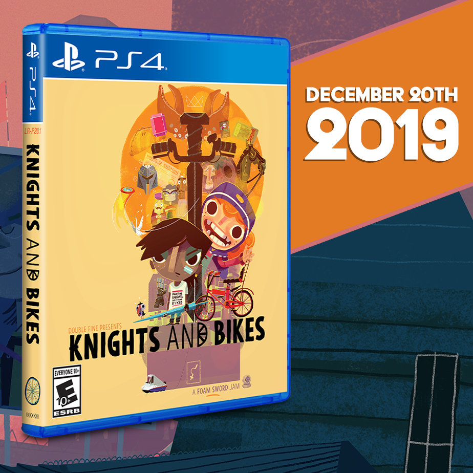 Knights and Bikes gets a two-week Limited Run!