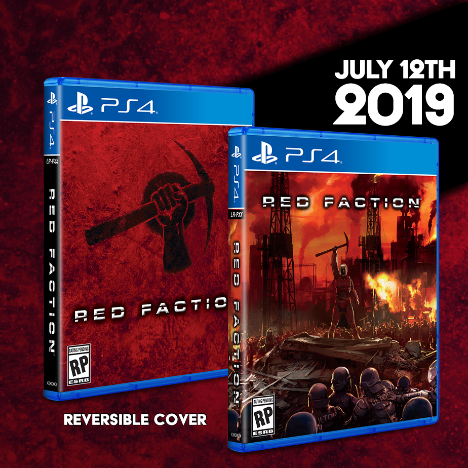 Red Faction will be an open preorder starting this Friday!