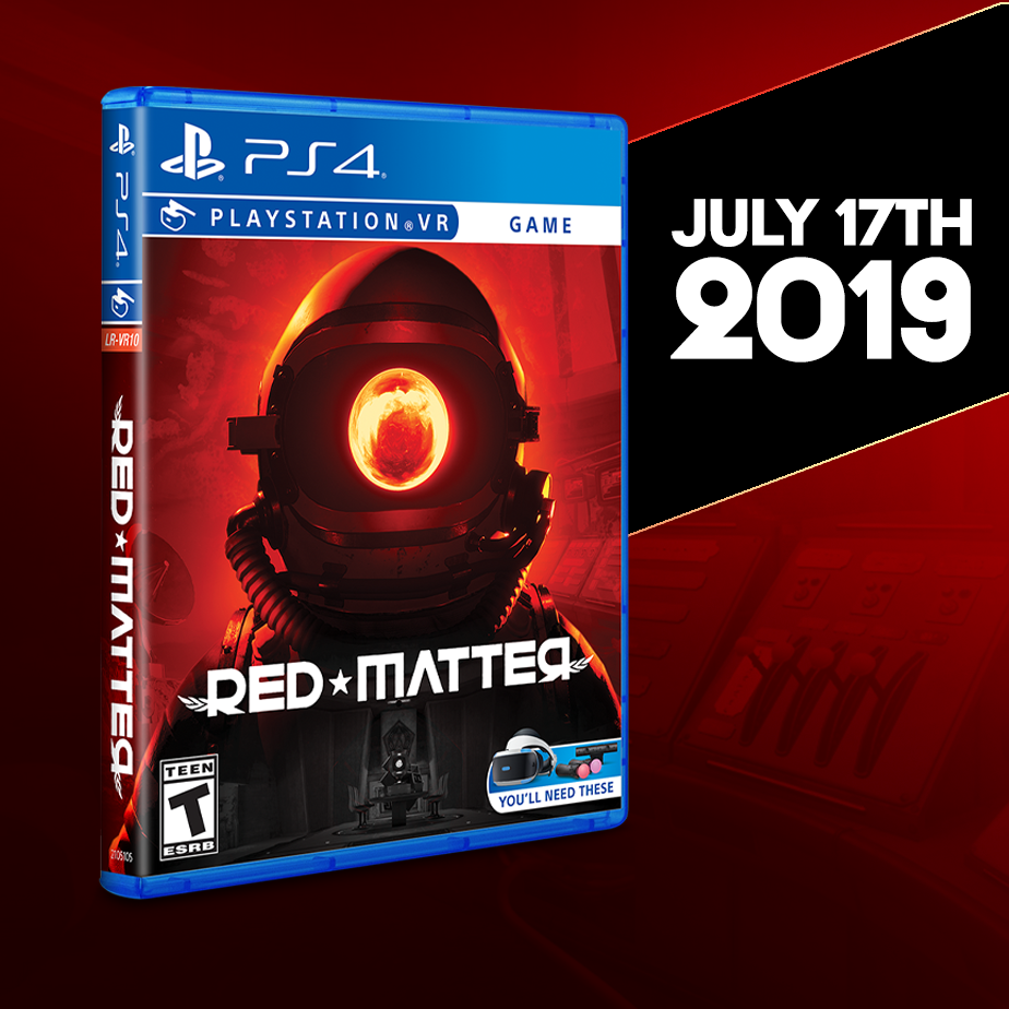 Red Matter on the PSVR will be available Wednesday, July 17th!