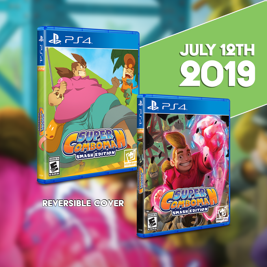 Super ComboMan: Smash Edition gets physical this Friday, July 12th.