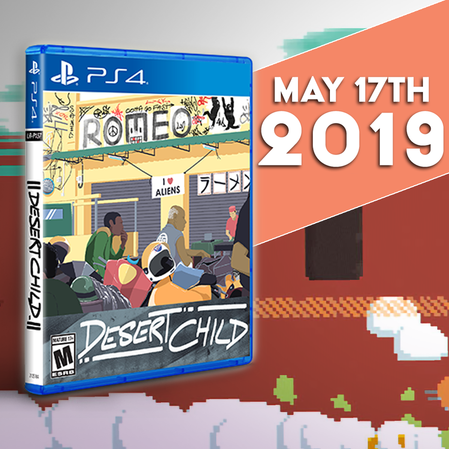 Desert Child will be available to purchase in physical form this Friday!