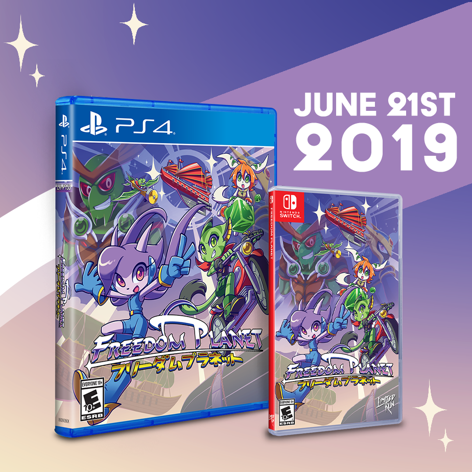 Freedom Planet gets a Limited Run on Switch and PS4 this Friday.