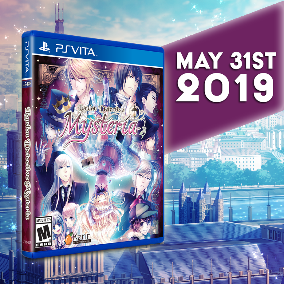 London Detective Mysteria gets a Limited Run for the Vita on Visual Novel Friday (May 31)!