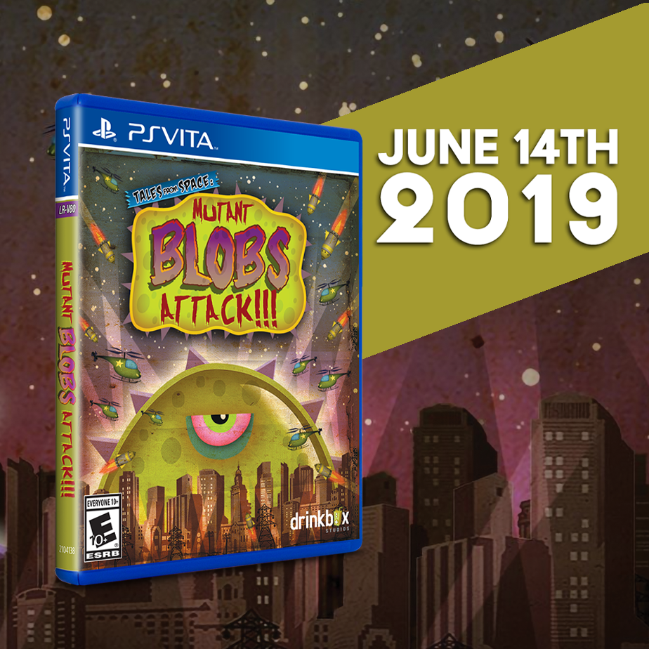 Tales from Space: Mutant Blobs Attack is coming to Vita this Friday, June 14th.