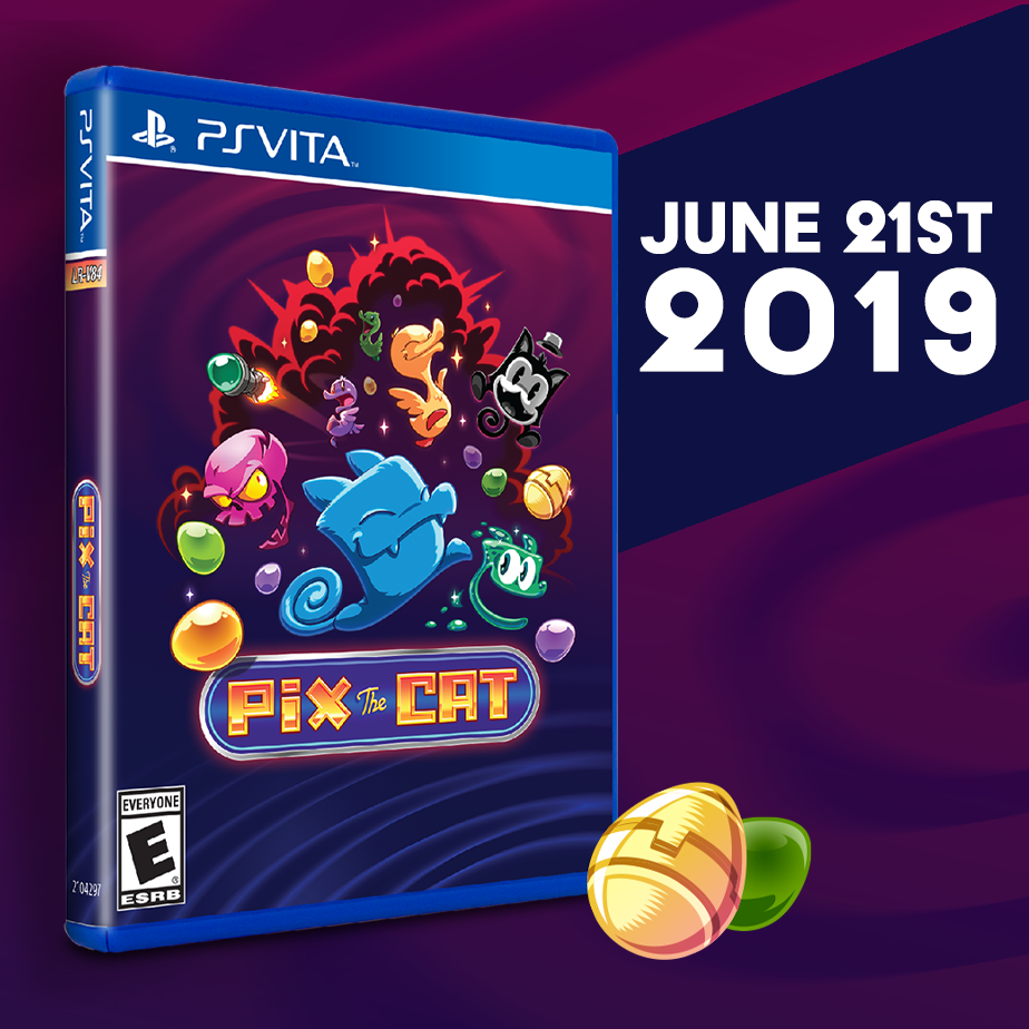Pix the Cat gets a Limited Run on the Vita this Friday, June 21.