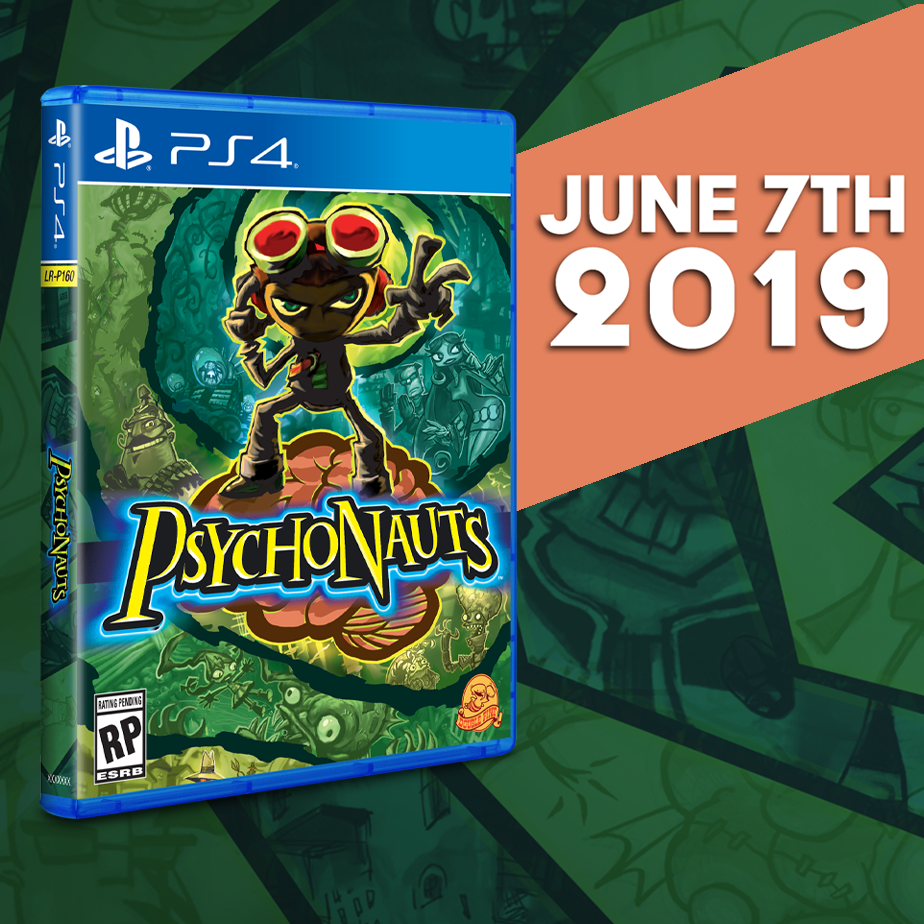 Psychonauts gets a Limited Run for the PS4 this Friday!