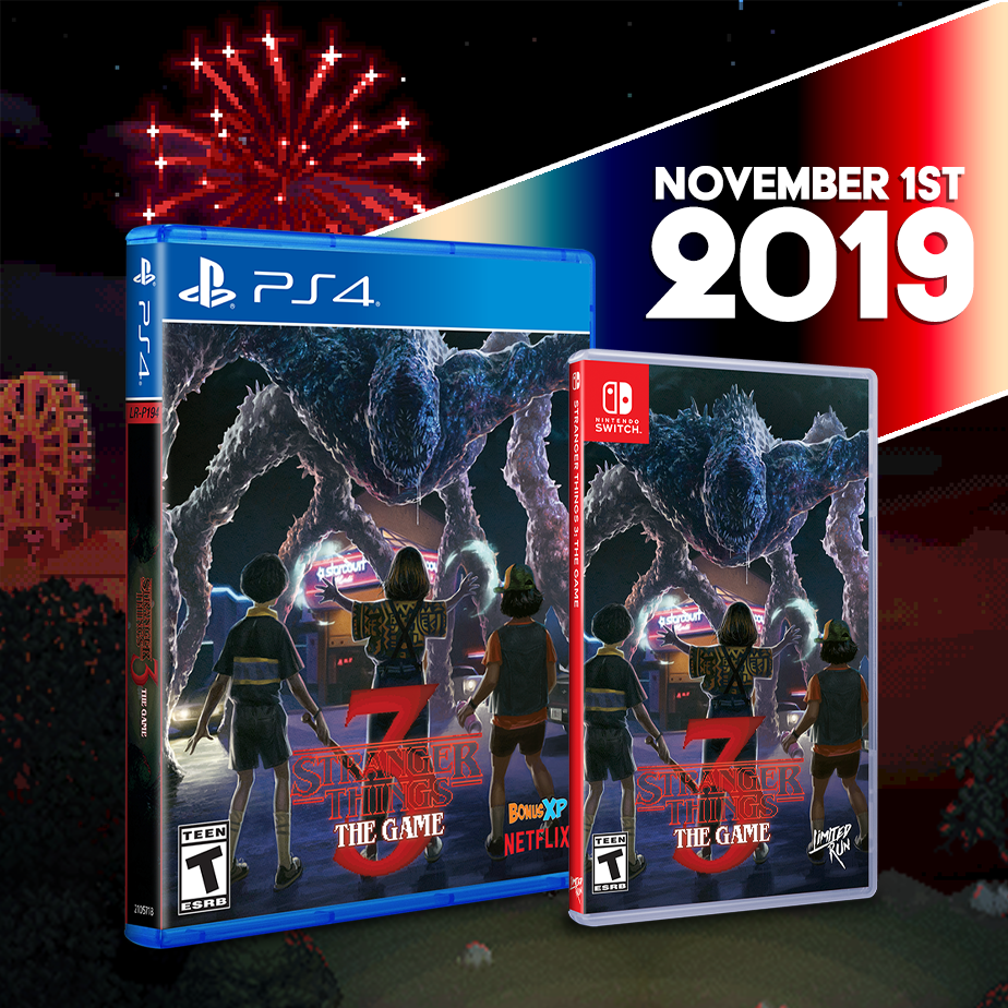 Stranger Things 3: The Game will be getting a Limited Run for the PS4 & Switch!