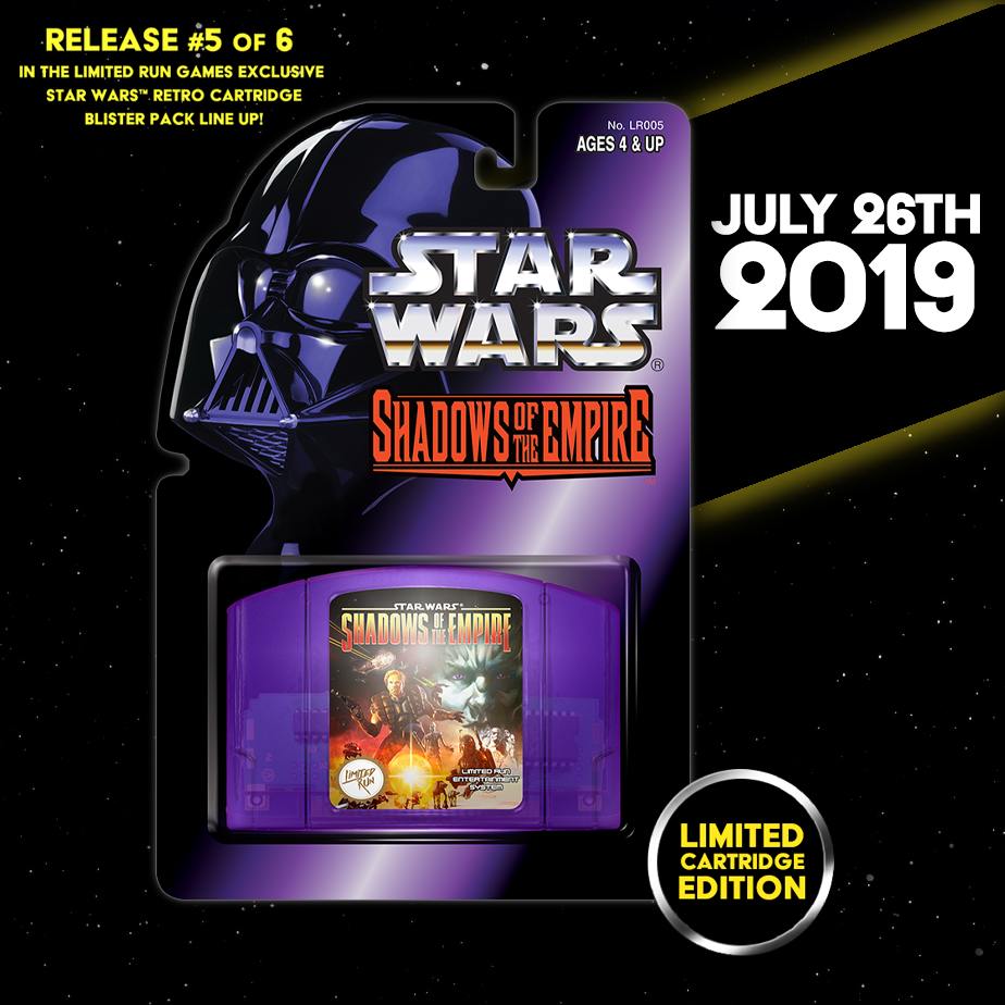 Star Wars™: Shadows of the Empire on N64!