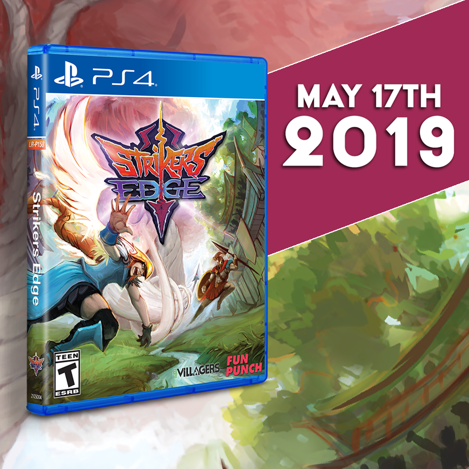 Strikers Edge gets a Limited Run for the PS4 on May 17th!