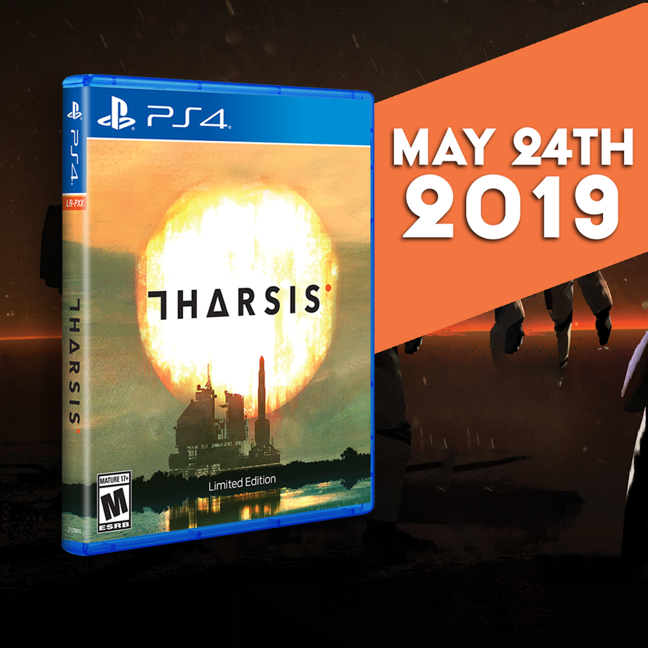 Tharsis gets a physical Limited Run for the PS4 this Friday, May 24!