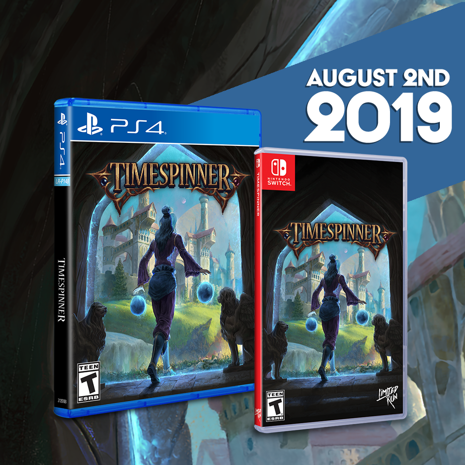 Timespinner will be available for the Switch and PS4 on Aug. 2nd.