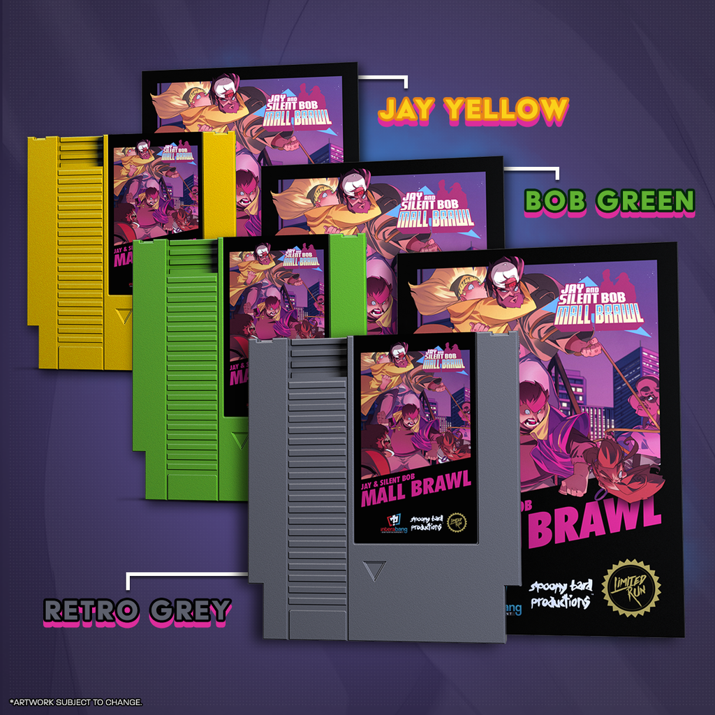 Jay and Silent Bob: Mall Brawl for the NES!