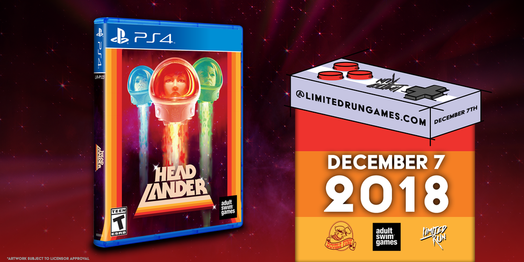 Mark your calendars for Headlander!