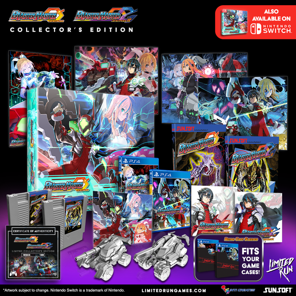 Physical run of Blaster Master Zero & Blaster Master Zero 2 available this Friday, May 29th!