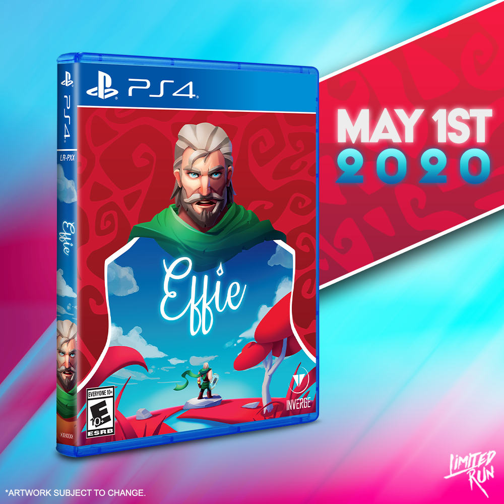 Effie gets a Limited Run for the PS4 on May 1st!