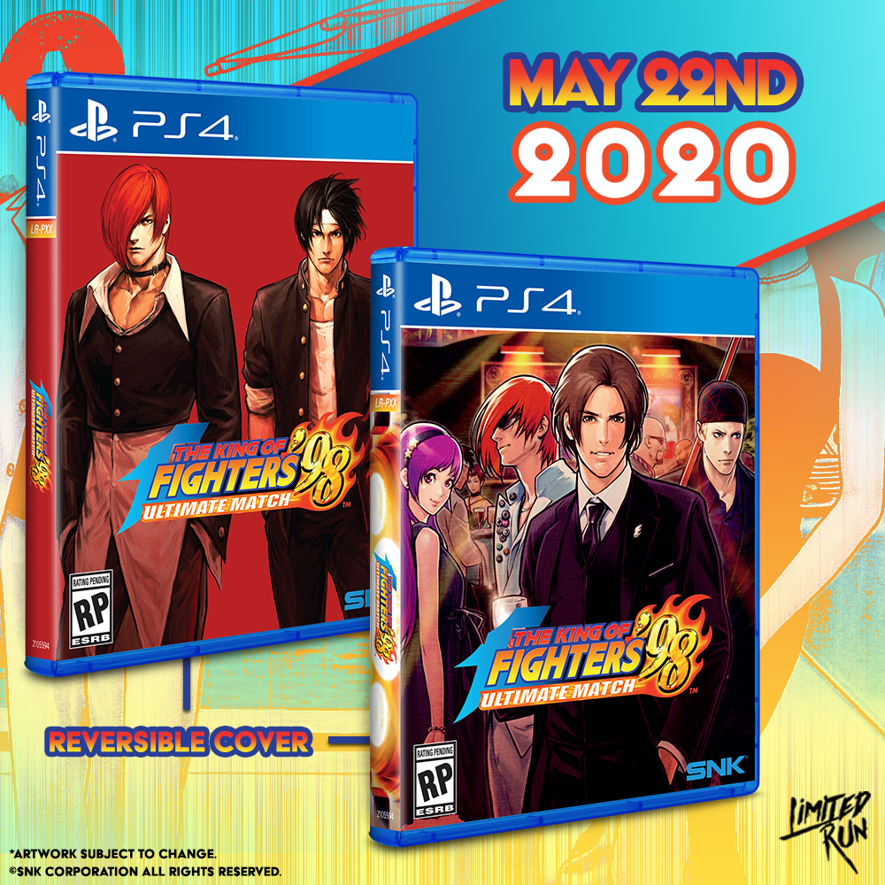 The King of Fighters '98 Ultimate Match is getting a Limited Run for the PS4!