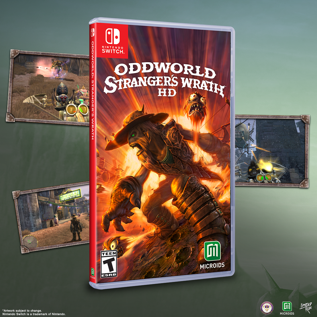 Oddworld: Stranger's Wrath through our distribution line for the Switch!