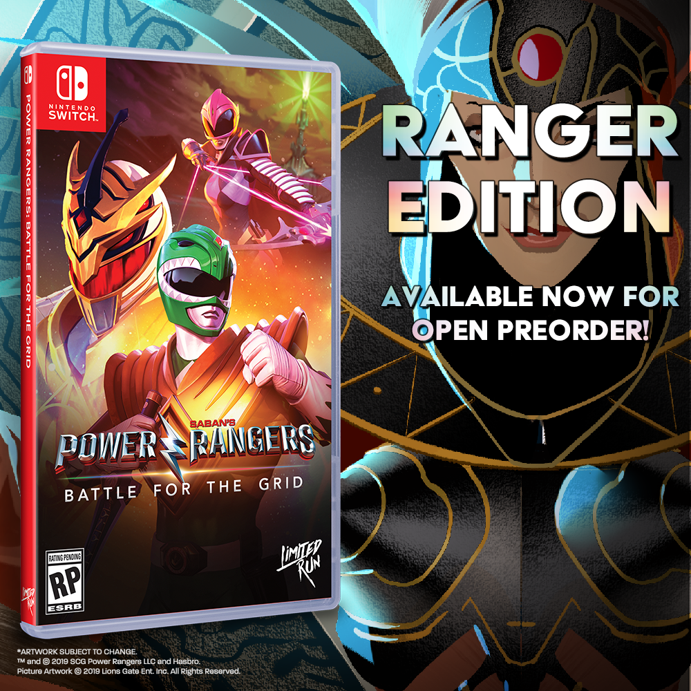 Power Rangers: Battle for the Grid available for preorder right now!