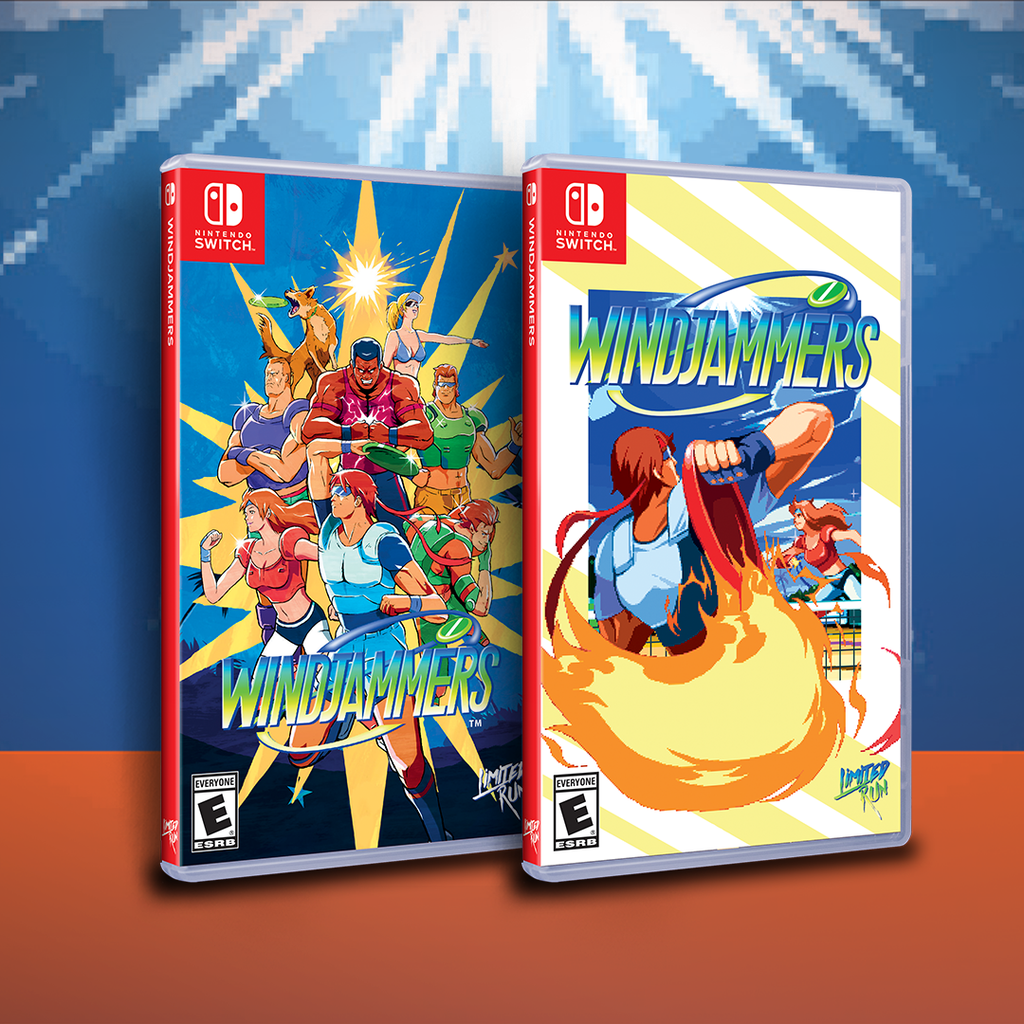 Windjammers coming to physical on Dec. 21st!