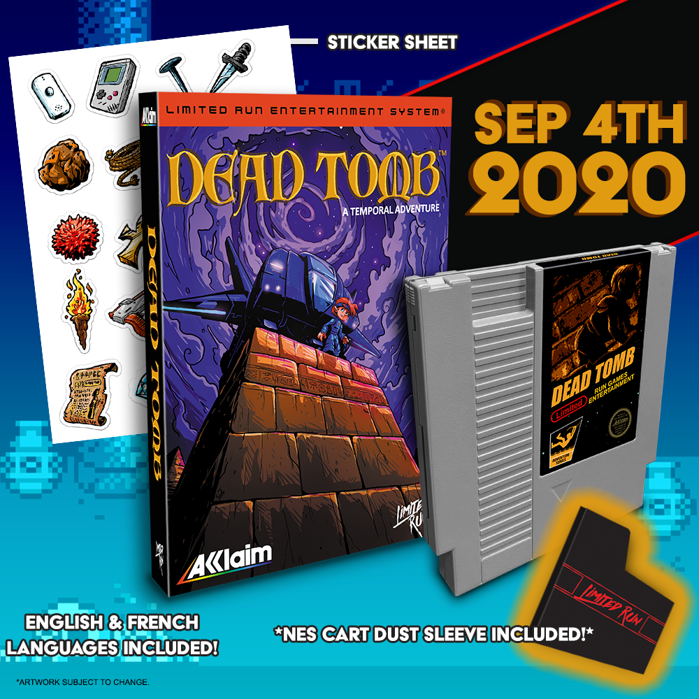 Dead Tomb Gets gets a Limited Run for NES this Friday!